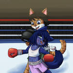 Katie Boxing Match 2