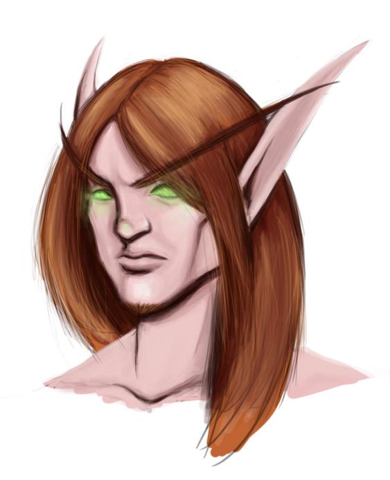 Blood Elf by GreenGryphon