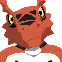 Guilmon Avatar smile