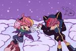 Two Snow Bats