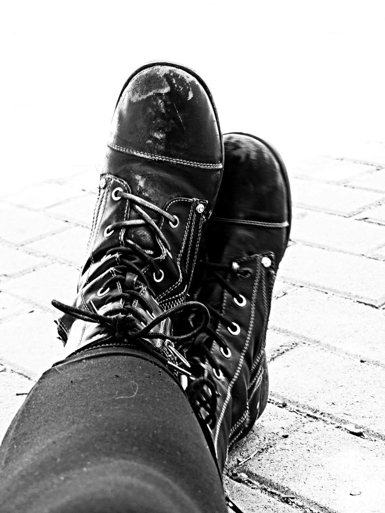 b and w Shoes 01 by DrunkAnt