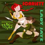 Scarlett and Lady Jaye