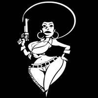 BAD MAMMA JAMMA Black White by chriscrazyhouse
