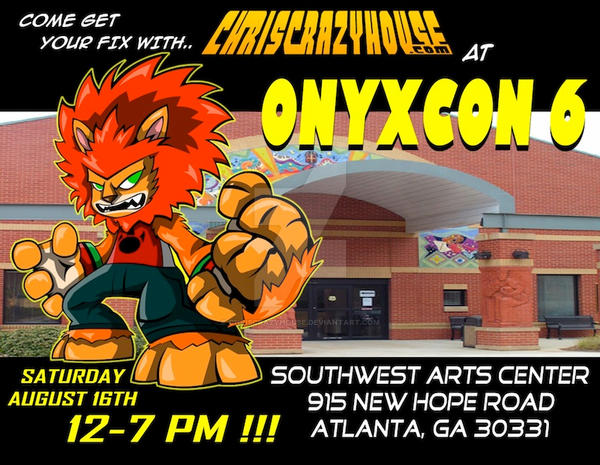 ONYXCON 6 AD2 by chriscrazyhouse