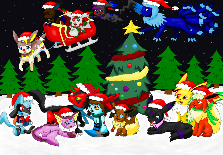 Merry Christmas 2010 by SkyBlueArts