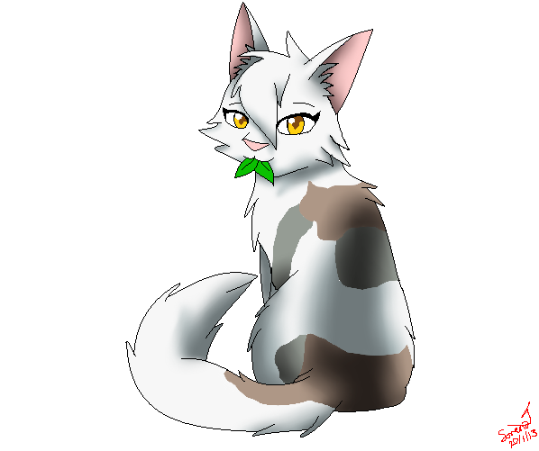 Sss Warrior Cats The Movie: Spottedleaf SSS Style By SkyBlueArts On DeviantArt