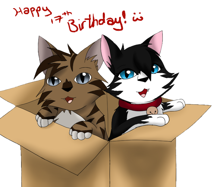 Happy Birthday Malte :3 by SkyBlueArts