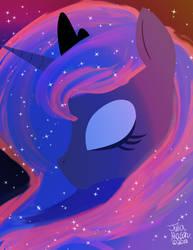 Luna, The Princess of the Night by booshippl