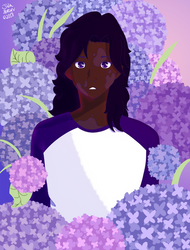 Gunther, The Hydrangea Boy by booshippl