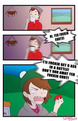 Scottish Trainer Girl: Comic (Strong Language) by booshippl
