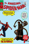 Amazing Spider-Man 1 3 live-action cover