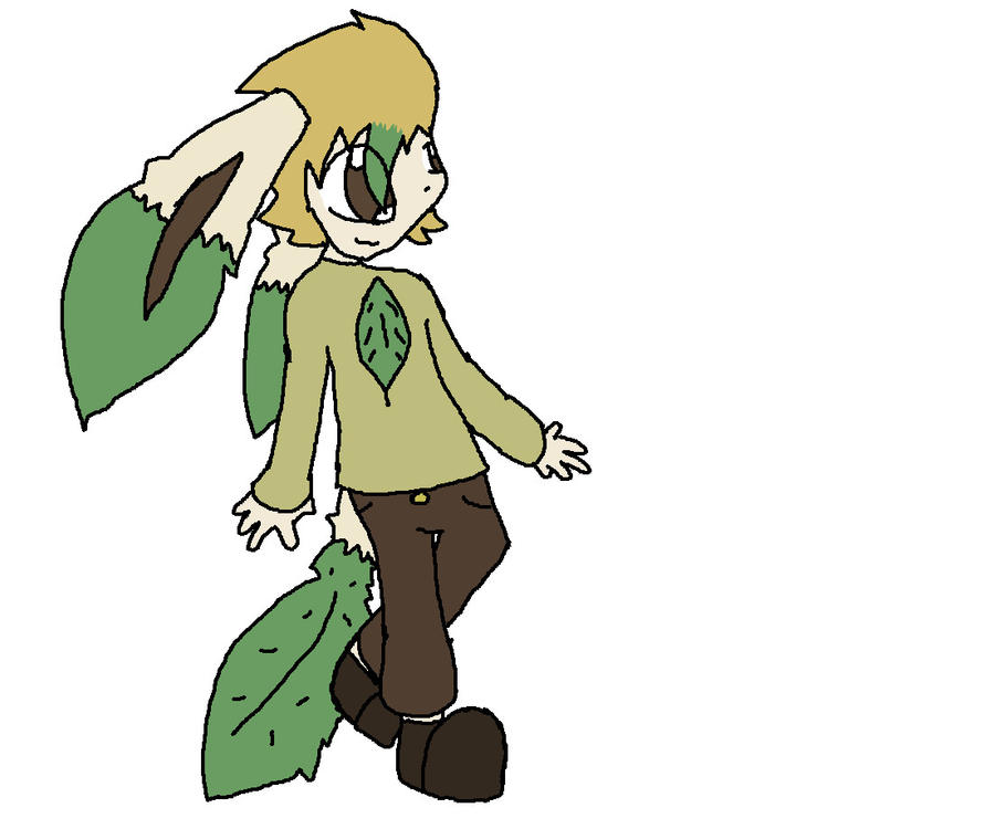 Human Leafeon | www.imgkid.com - The Image Kid Has It!