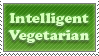 Intelligent Vegetarian Stamp