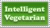 Intelligent Vegetarian Stamp