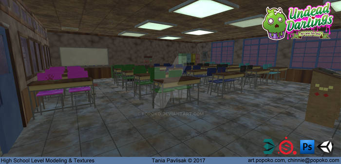 Classroom (Undead Darlings~)