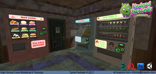 Vending Machines (Undead Darlings~)