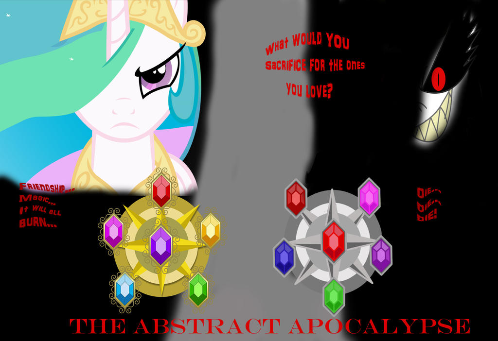 Mlp The Abstract Apocalypse Cover By Frostquill On Deviantart