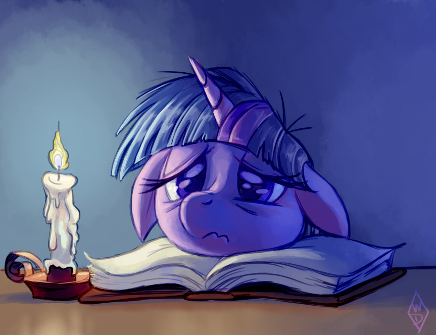 Burning the Midnight Oil by WhiteDiamondsLtd