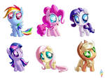 Excessively Chibi-Ponies