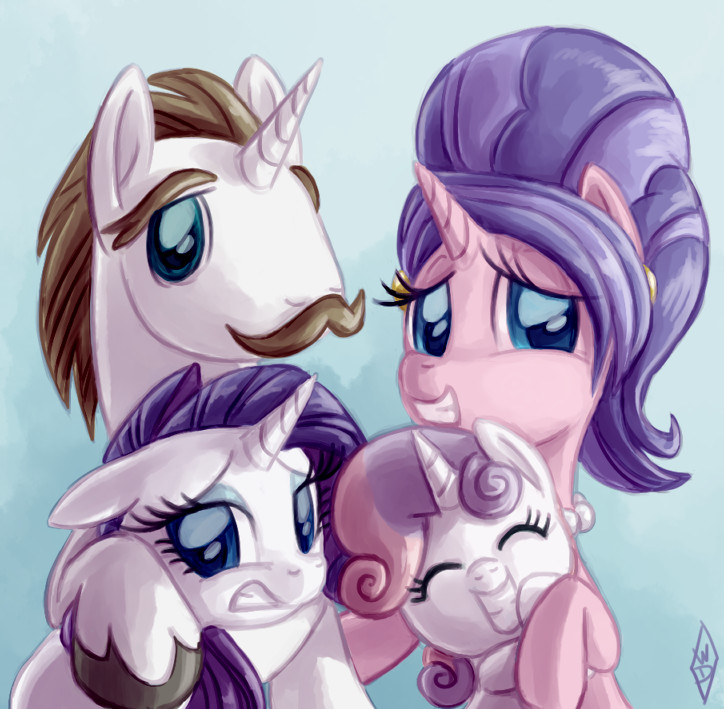 Fabulous Family Portrait by WhiteDiamondsLtd