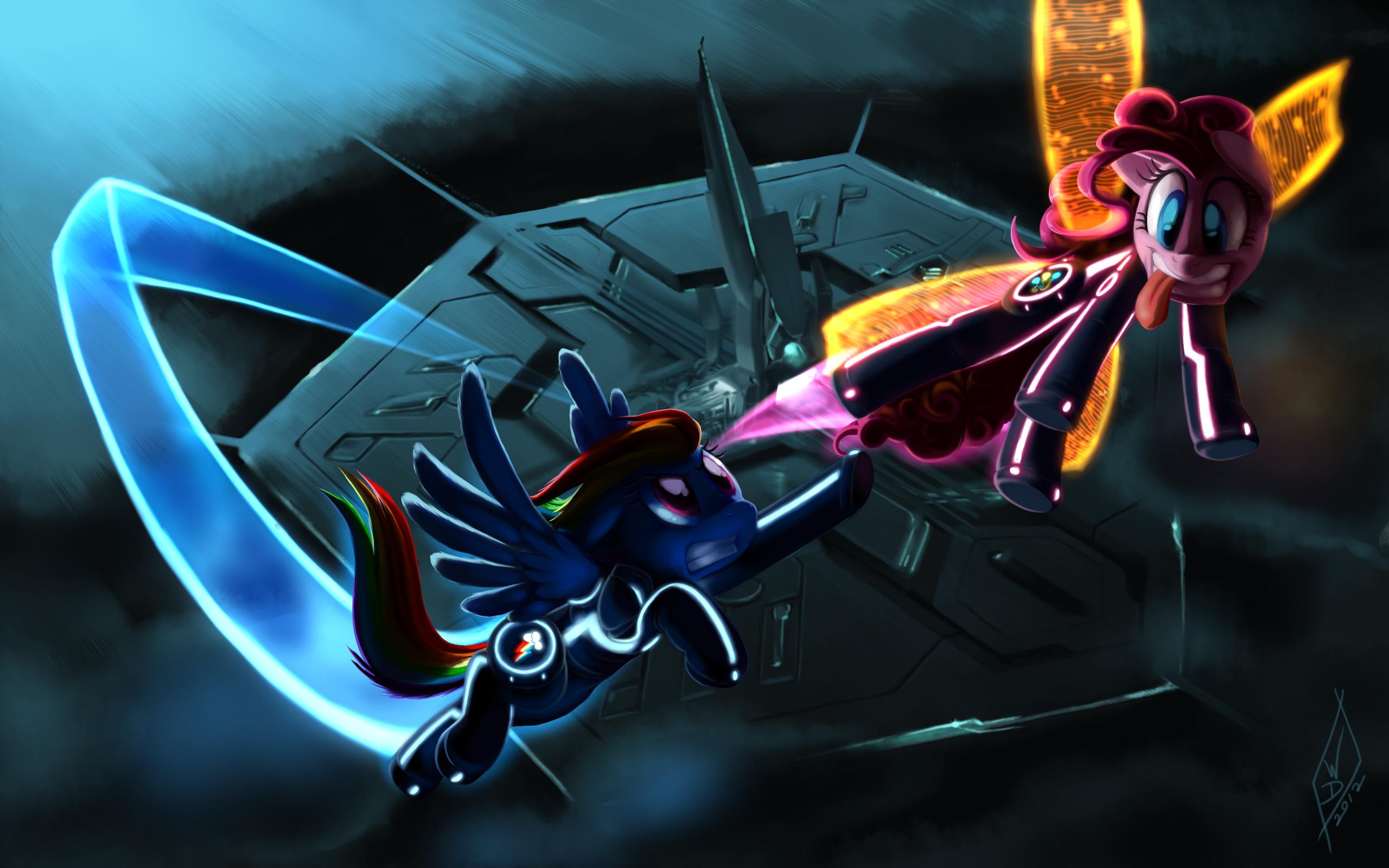 Commission: Pony-Tron by WhiteDiamondsLtd