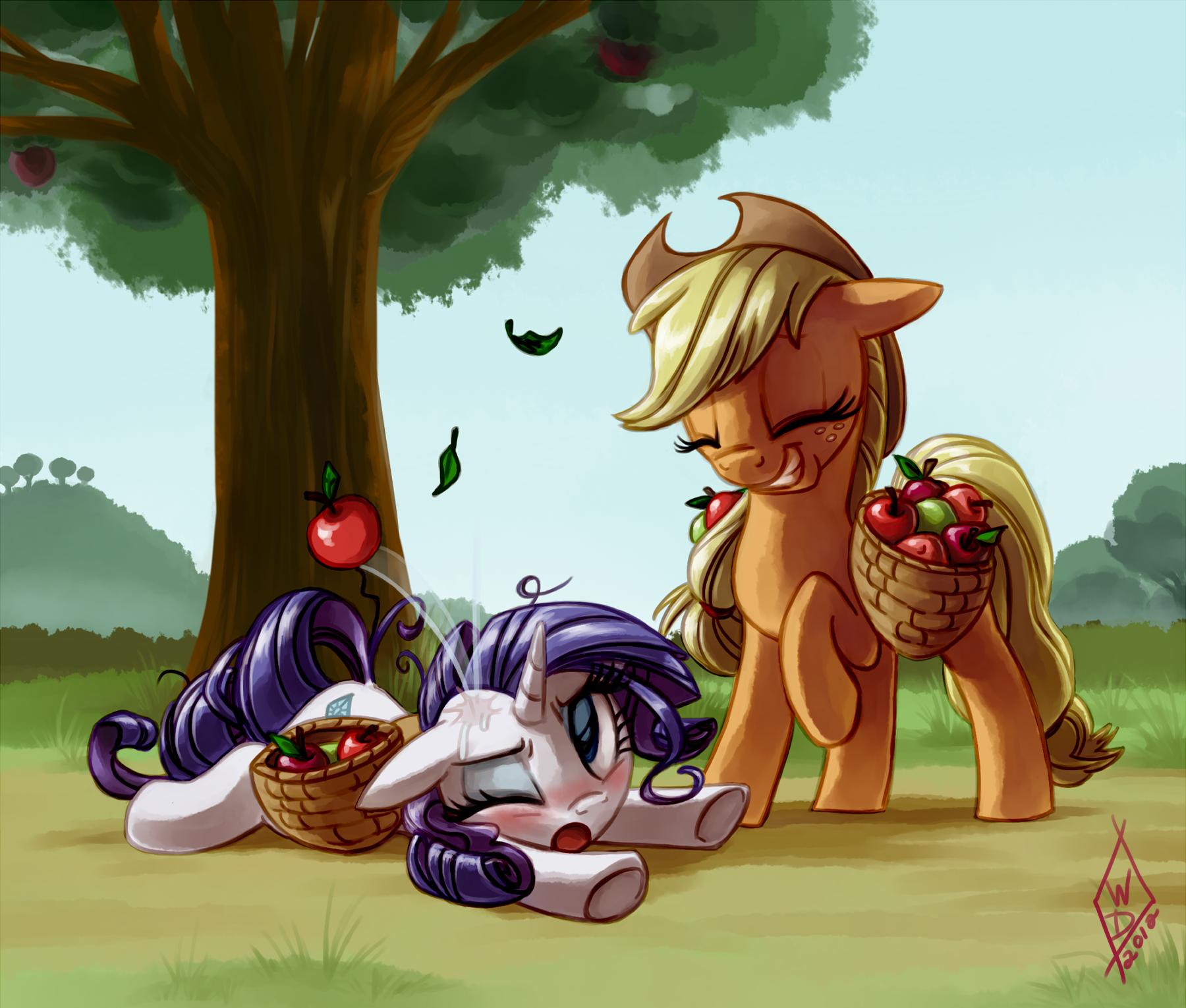 Commission: Applebucking is HARD by WhiteDiamondsLtd