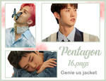 pack #44 -PENTAGON-ONE CLICKANDREA by andreakaisoo