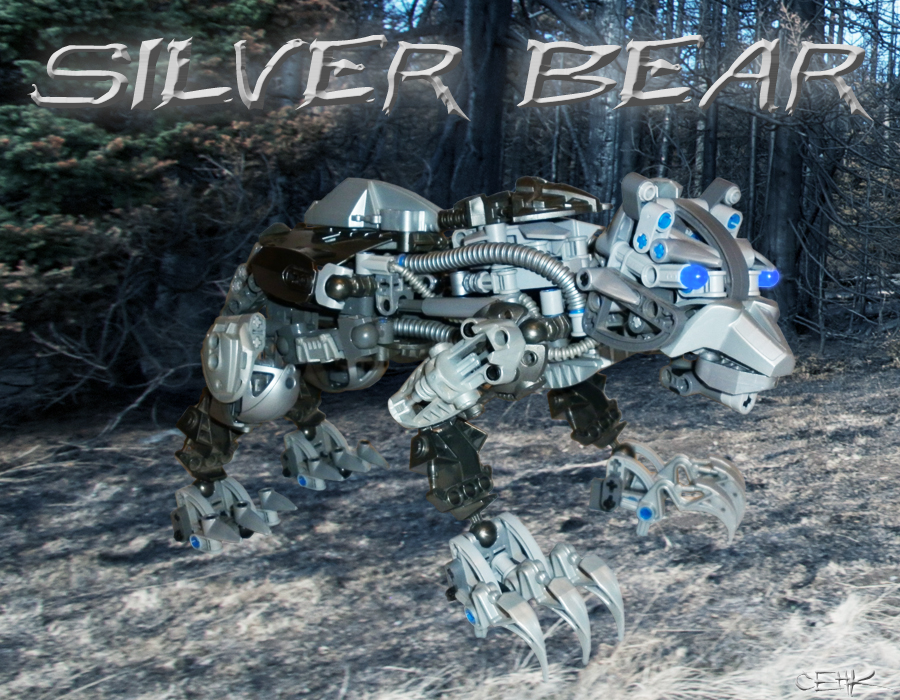Silver Bear by Master-Cehk