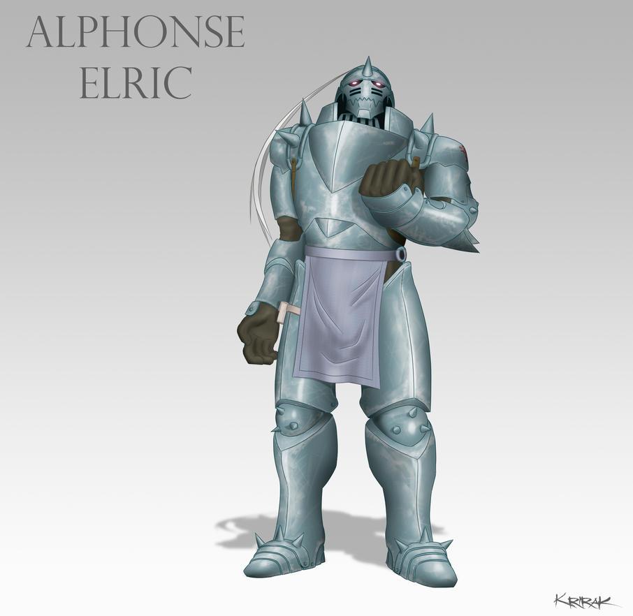 Alphonse Elric by Master-Cehk