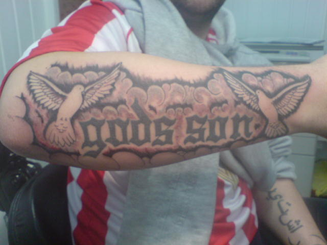 Gods son development by richy tatts on deviantart for God s son tattoo