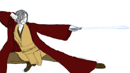Woman Jedi WIP