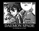 Daemon Spade Poster