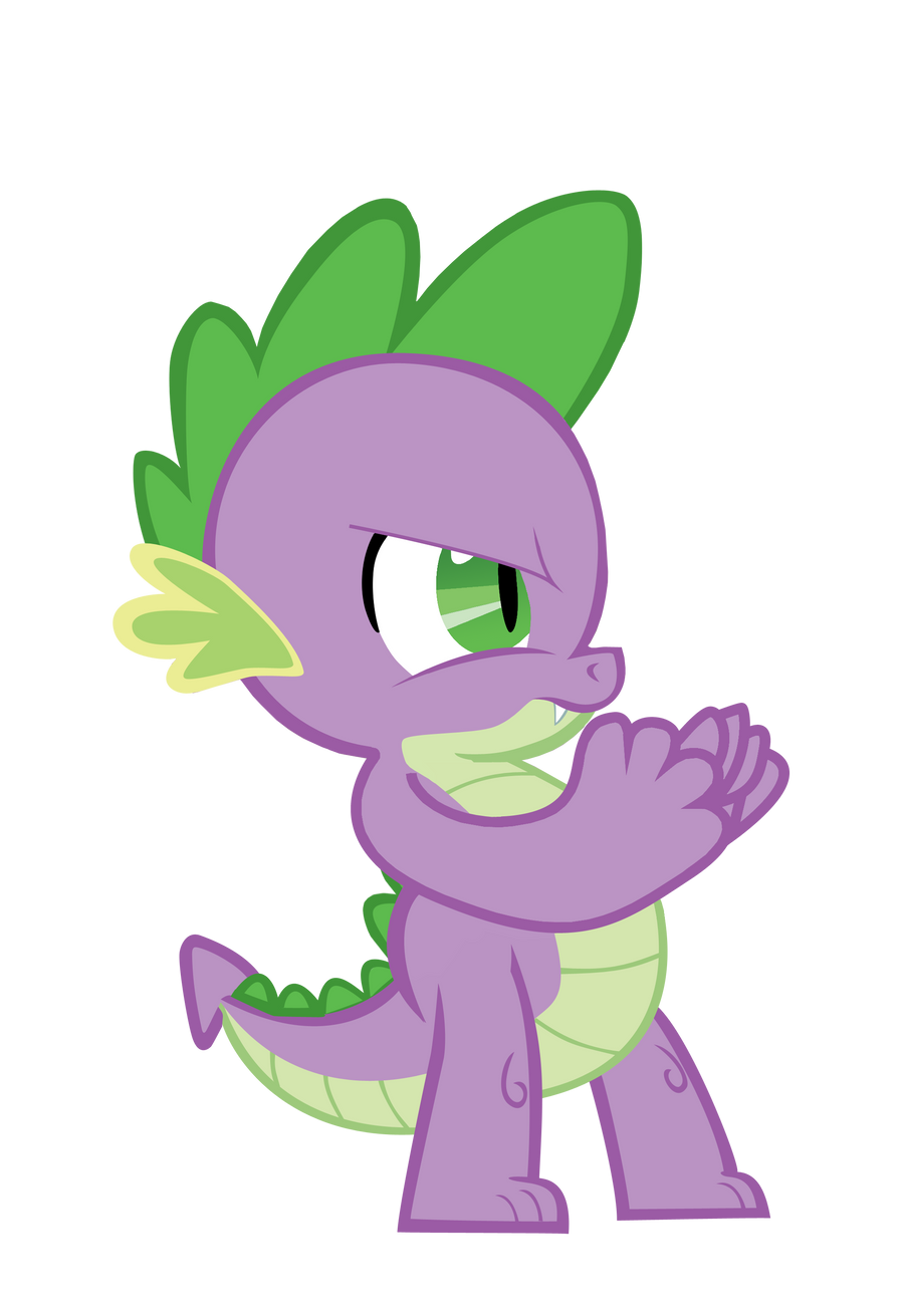 Spike : I'm Gonna Bop You One by ShadyHorseman
