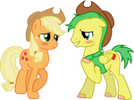 Applejack and James Thunder
