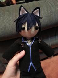 Ikuto Tsukiyomi Felt Doll
