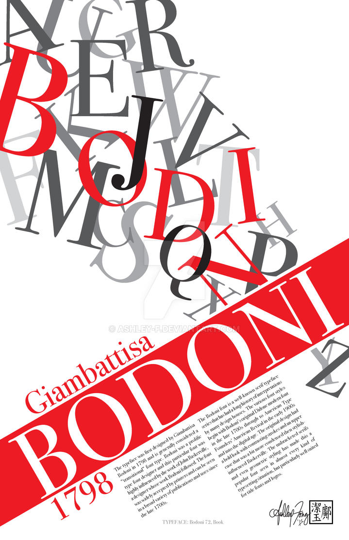 Bodoni by ashley-f