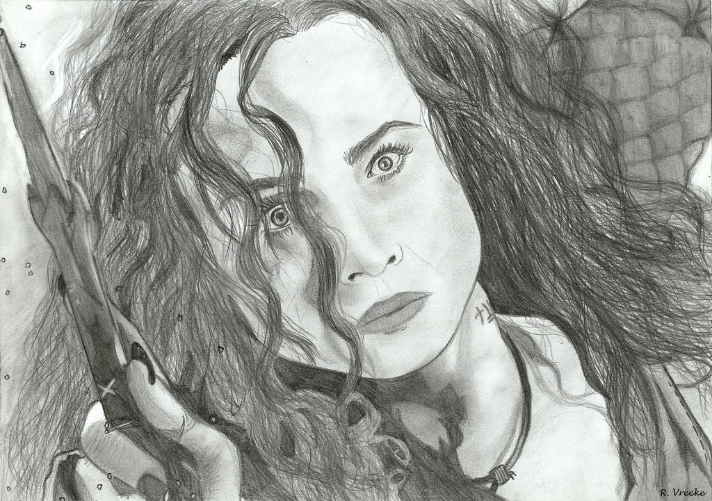 Bellatrix Lestrange by chairo-96