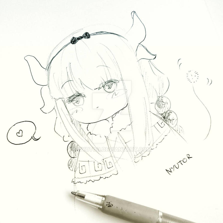miss Kobayashi's dragon maid kanna by nyutor