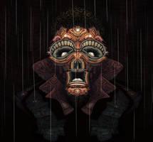 When it rains... by Uzi-Muzi