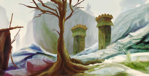 Sentry Towers by Uzi-Muzi