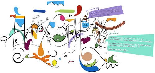 Birthday Card Caelia 2013 by Uzi-Muzi