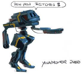 Yawnmower 2000 by Uzi-Muzi