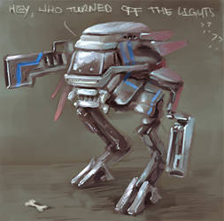Mech - Who Turned of the lights??