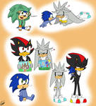 Sonic, Shadow and Silver Kids