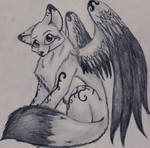 DreamCatcher the winged wolf