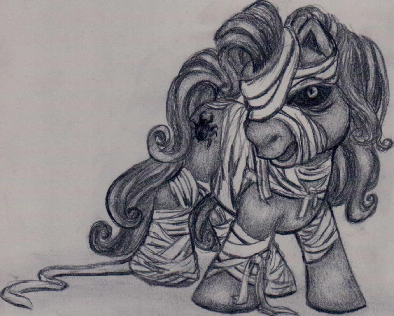 Mummy Pony by alisiadragoon