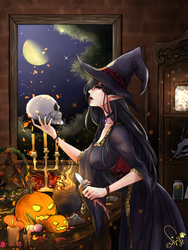 Night for witches by Siryp