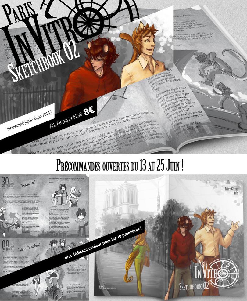 Sketchbook02 Preorder infos by fatras-yris