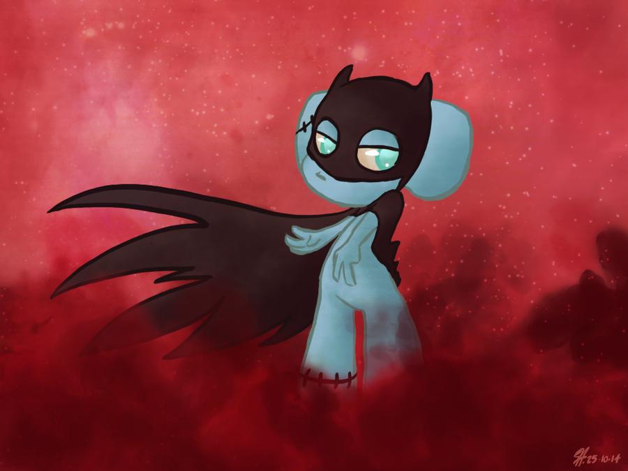The Dark Blue Knight by RaiseYourChickenWing