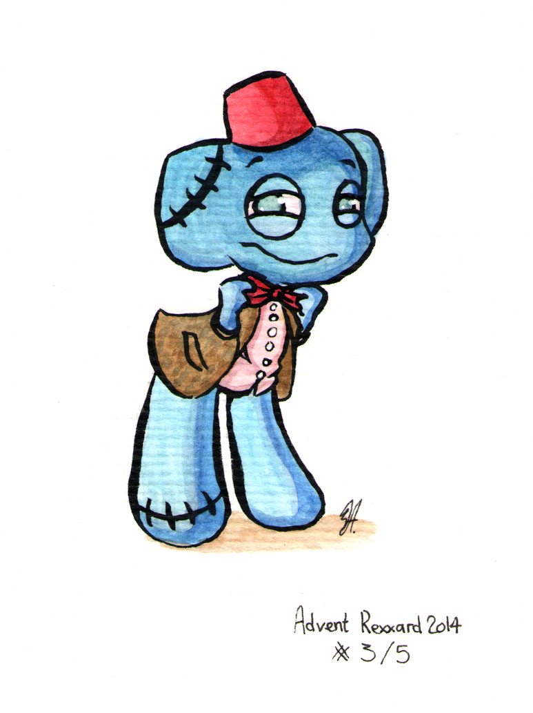 Advent Rexxard - The Eleventh Doctor by RaiseYourChickenWing